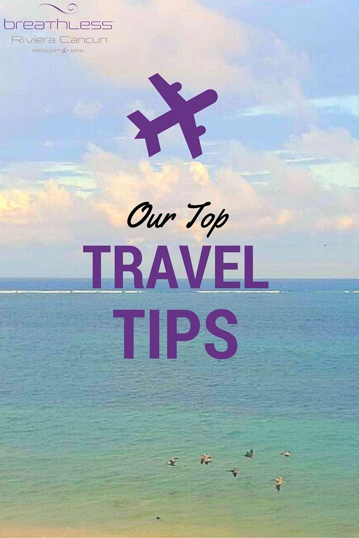 Traveling to the Riviera Cancun? Be sure to check out our top travel tips so you're prepared to bring the party!