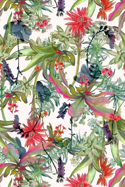 patterns.quenalbertini: Tropical Patterns, Imprimolandia #tropicalpattern