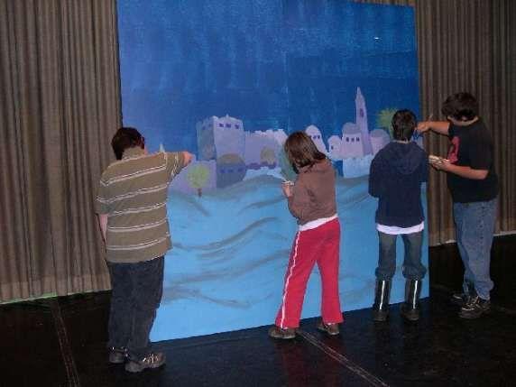 Bethlehem backdrop idea | First Noel | Pinterest | Bethlehem and Noel