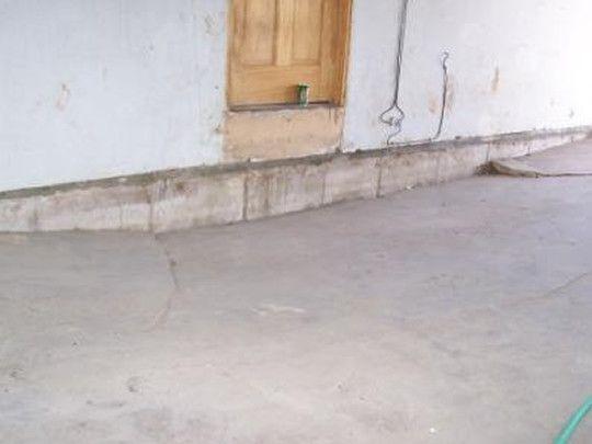 Concrete · Sinking Garage ...