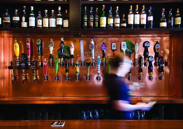 Hour Town Brew Pub Bar Image Australian Bbq