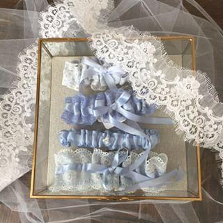 Good things come in threes!....#bridalgarter #bridal #garter #ribbongarter #wedding #weddingaccessories #weddingideas #wedding #weddinggarter #garter #bridalshower #bridalgift #tossgarter #bridalinspo #tulle #weddingblogger #weddinggift #bridallingerie #couturebrides #bridetobe #engaged #love #weddinginspo #glamwedding #summerwedding #voguebrides #pinterest #pinterestinspo #pinterestinspo
