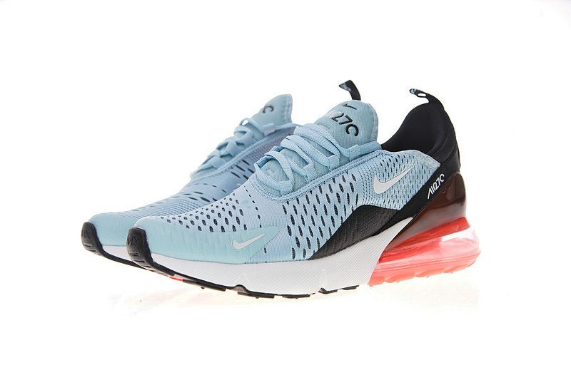 3478c64d6783 AH6789-400 Nike Air Max 270 Womens New Running Shoe Ocean Bliss Black Hot  Punch White Red
