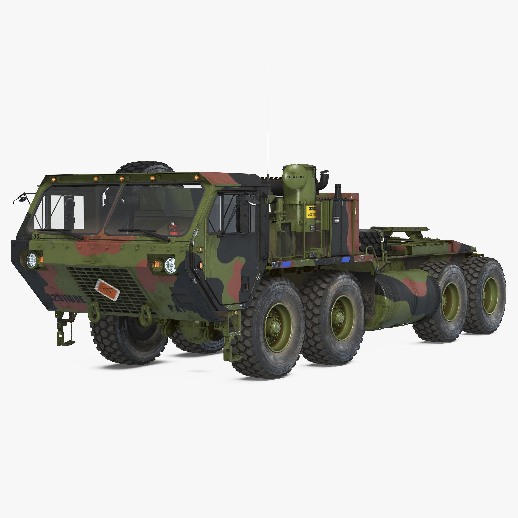 Military Truck Oshkosh Hemtt M985 3d Model Ad Oshkosh Truck
