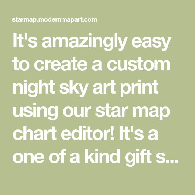 It's Amazingly Easy To Create A Custom Night Sky Art Print