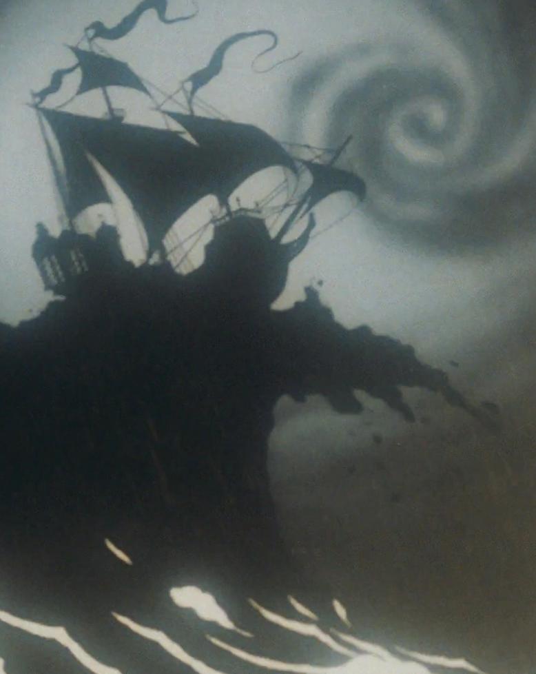 Hurricane a comin!, little mermaid