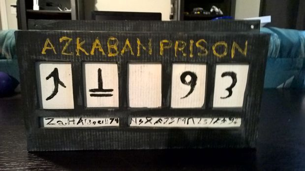 Azkaban Prison Sign | Alter Ego - All About Cosplay
