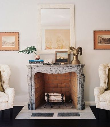 Lieblich Belle Maison: Accessories 101: Decorating The Fireplace Mantel