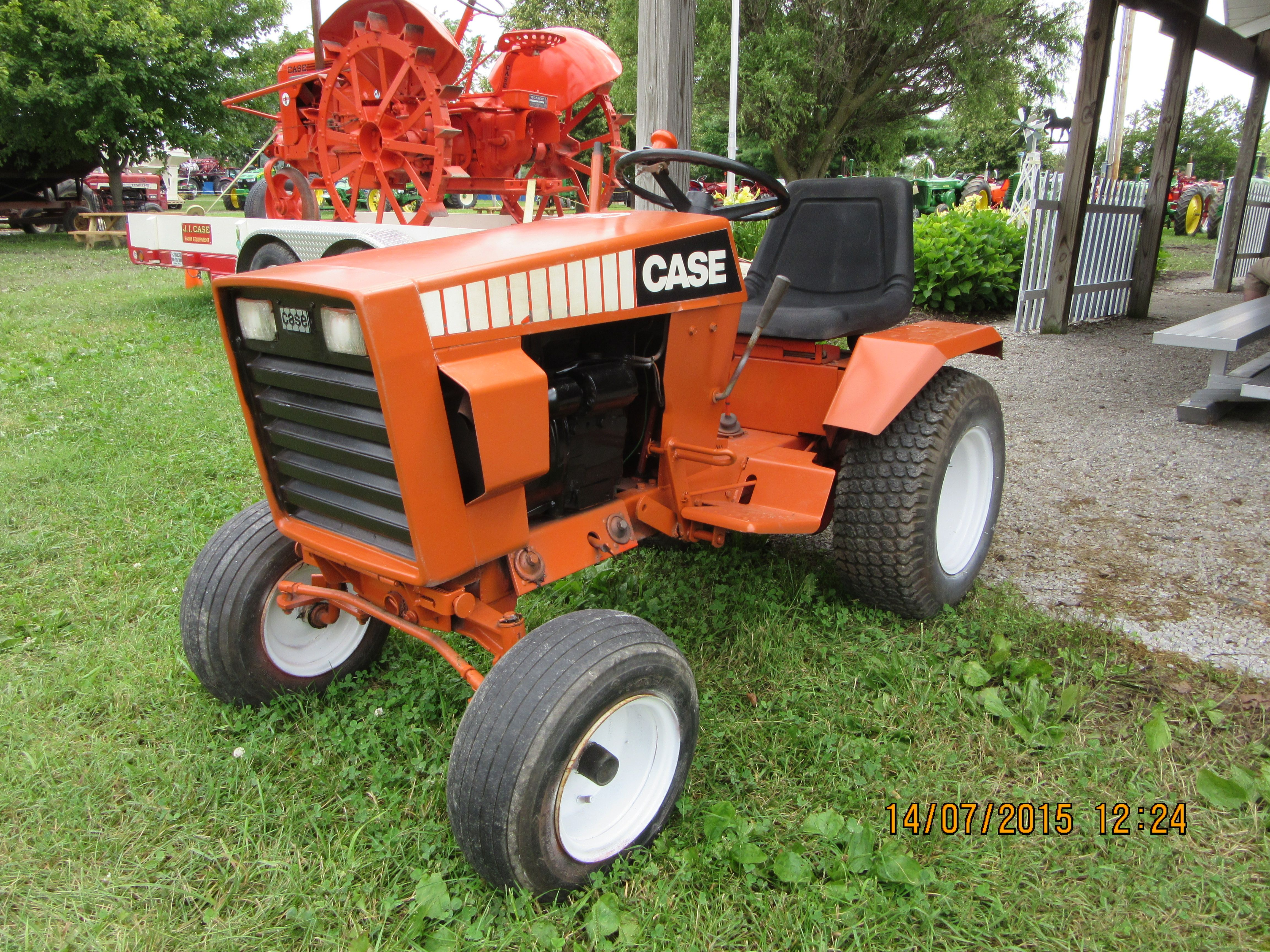 Case Lawn Mowers : J i case lawn garden tractor equipment