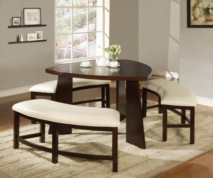 4 piece dining room sets : bench style dining table sets - pezcame.com