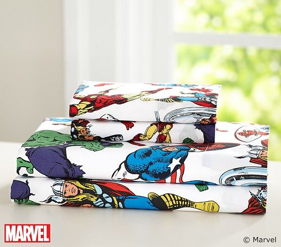Marvel Sheet Set Pottery Barn Kids Avengers Room