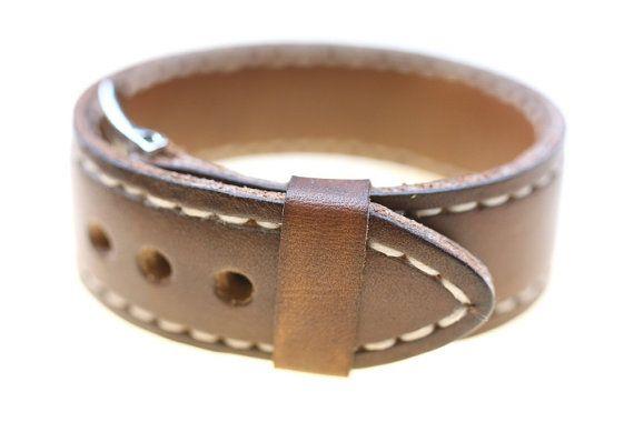 Panerai homage/Mens bracelet/Leather bracelet/Mens style by micael