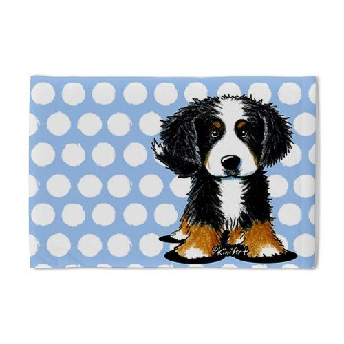 Bernese Mountain Dog Pillow Case By Cafepress White By Cafepress 24 00 Pillow Case Size 29 X 19 5 100 Satis Dog Pillow Dog Gifts Bernese Mountain Dog