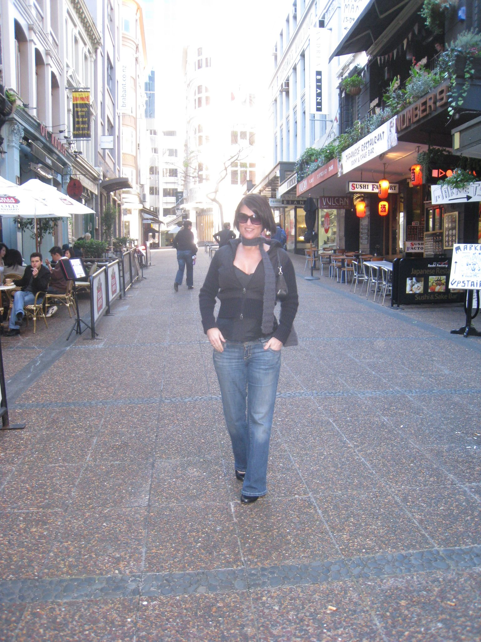 IN AUCKLAND, NEW ZEALAND-ON VULCAN LANE- ONE OF THE MOST FAMOUS SPOTS FOR SHOPPING & CELEBRATING