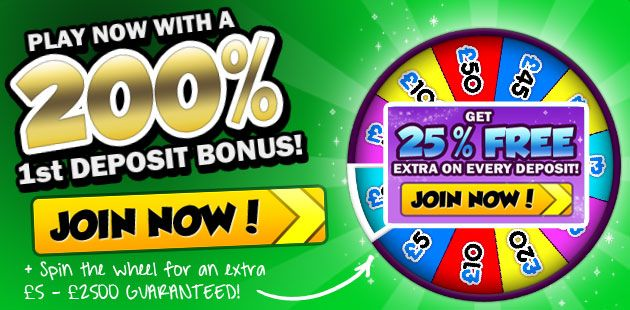 Spin the wheel to win real prizes for playing