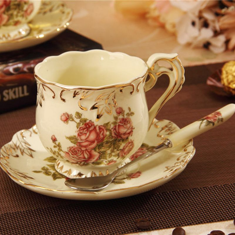 Online Buy Wholesale tea cup and saucer decal from China tea cup ...