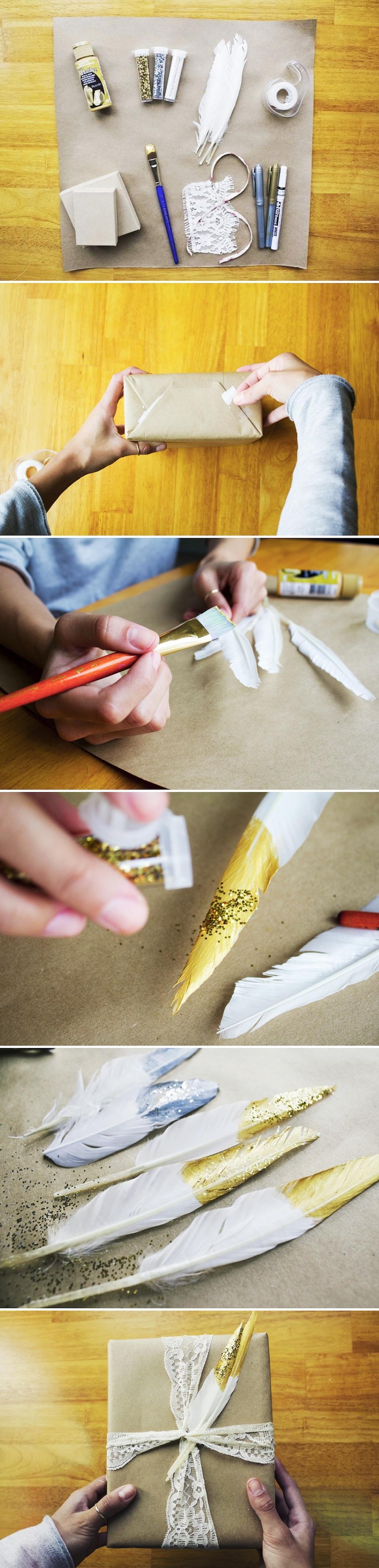 diy Pretty Gift wrap diy crafts craft ideas easy crafts diy ideas crafty easy diy craft necklace craft gifts diy gift wrap