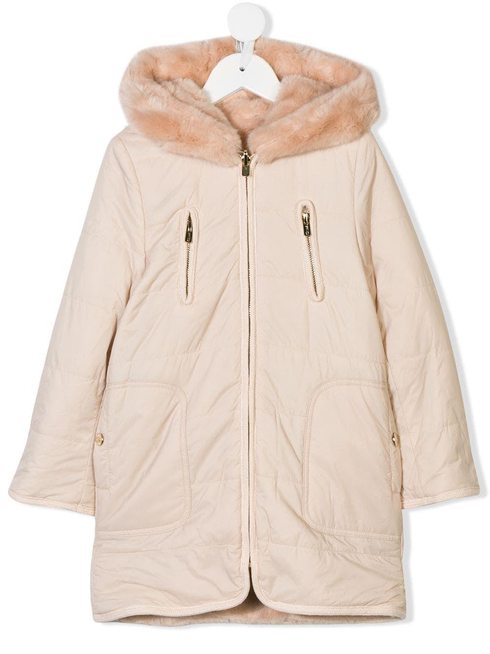 c0018d602e Chloé Kids Reversible faux-fur Coat in 2019 | Products | Pink faux ...
