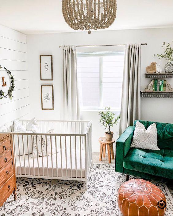 2020 Nursery Design Trends Kicking Off The New Decade Of Baby Rooms Nursery Baby Room Baby Room Decor Baby Room Design