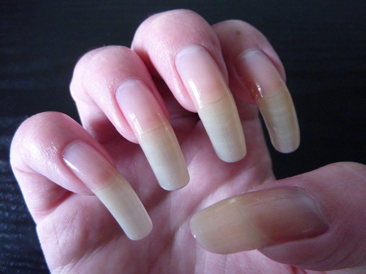 A Bit Long But Beautiful Non The Less Long Red Nails Trendy Nails Natural Nails