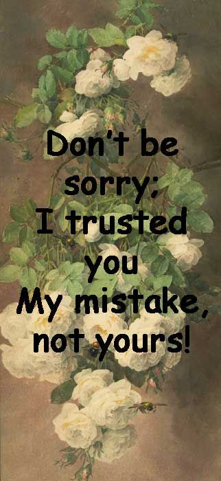 Sorry / Quotes & Funny Things/SylviaDros