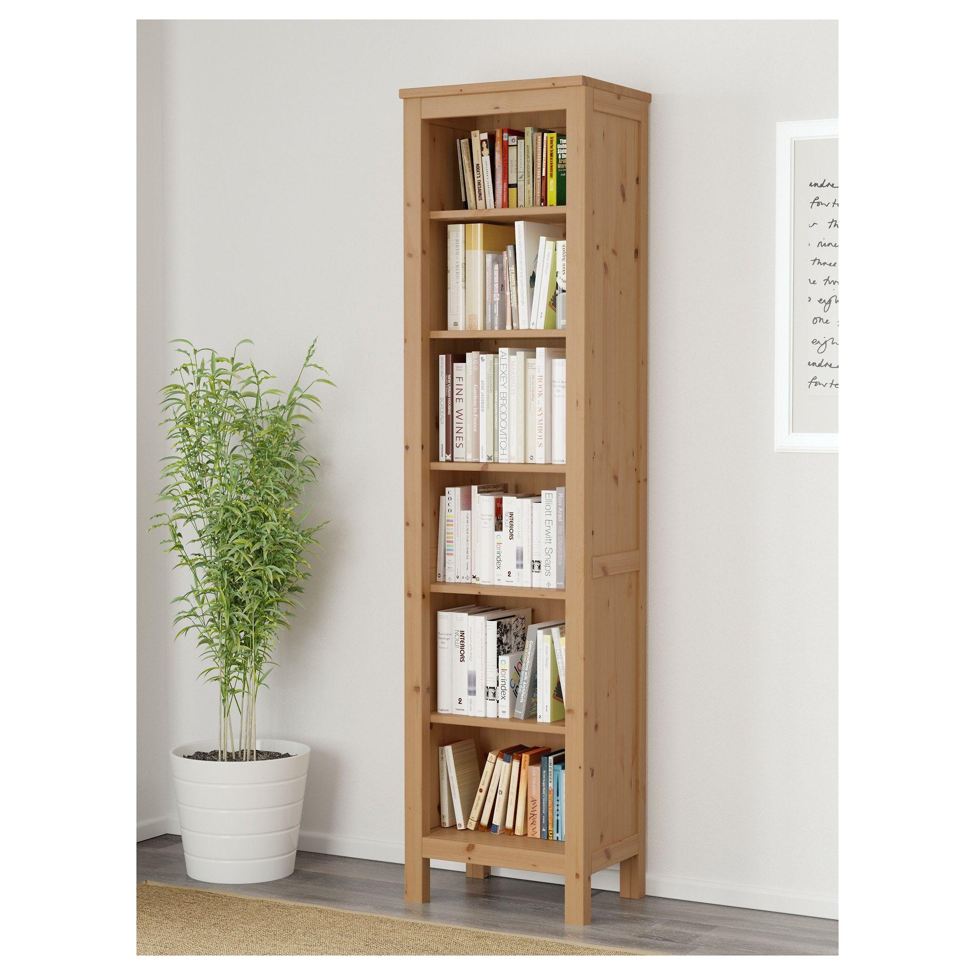HEMNES Bookcase, light brown, 49x198 cm   IKEA   Hemnes ...