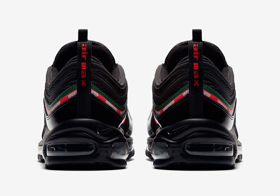 02500e3d1204bf Undefeated Nike Air Max 97 Black Official Images AJ1986-001