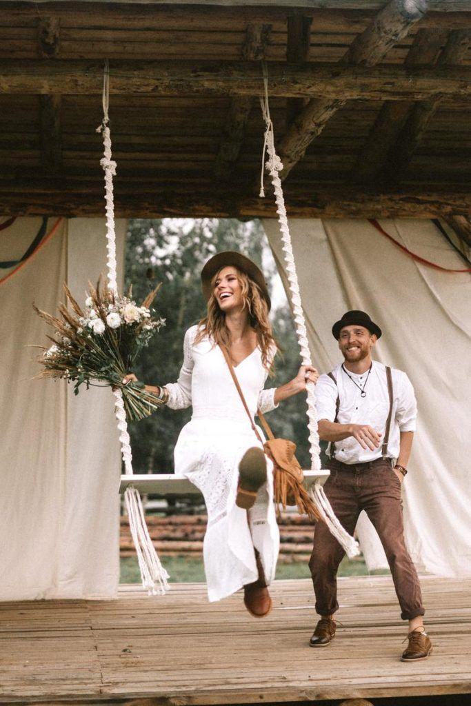 20 manières dintégrer le macramé à votre mariage