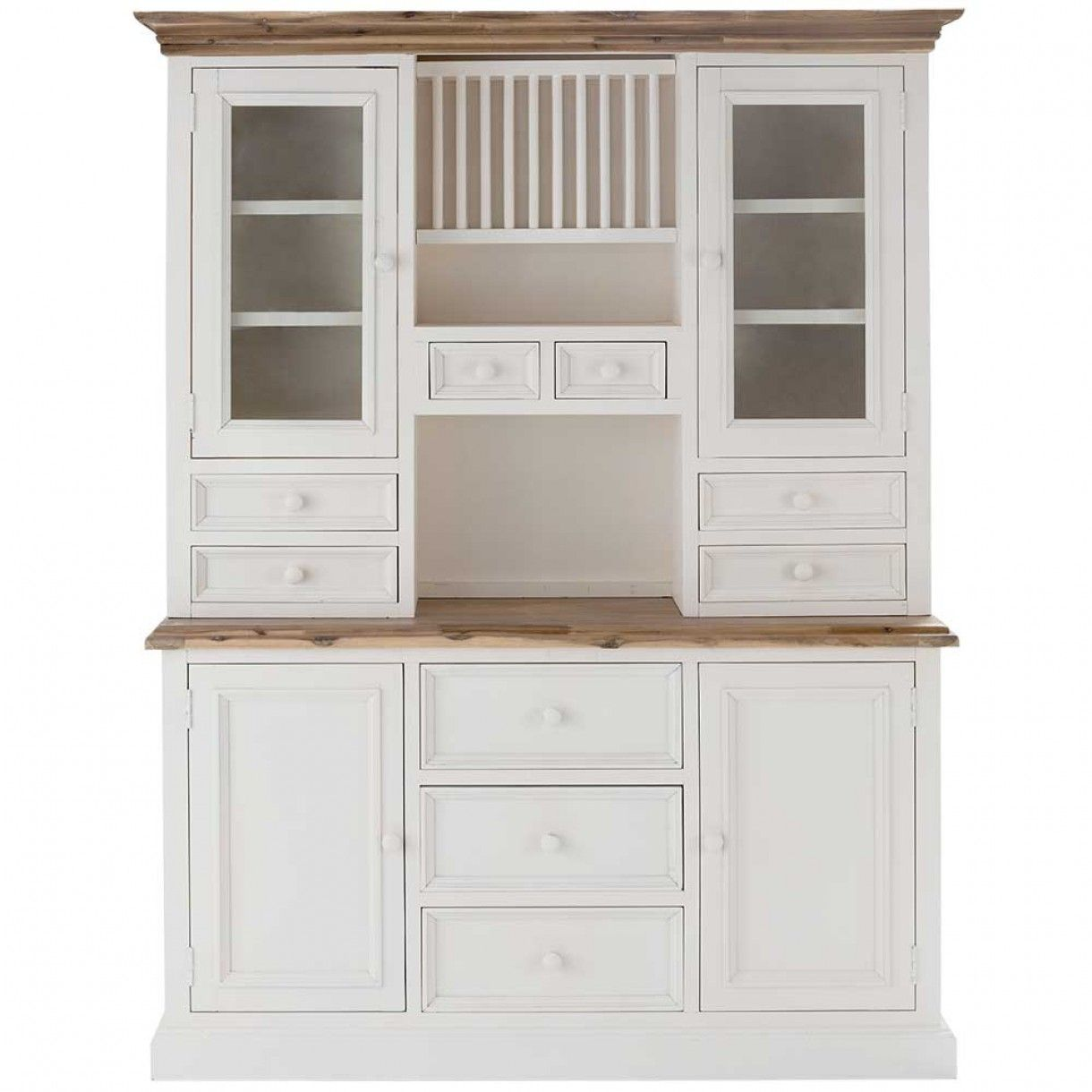 Dining room: White Kitchen Hutch For Buffet And Hutch With Home ...