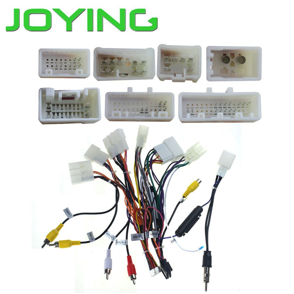 Joying Wiring Harness Cable For Toyota Only For Joying Android Device Car Electronics Toyota Camry Toyota