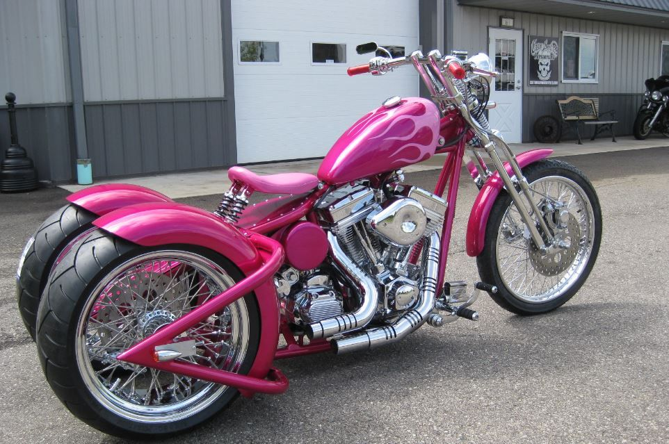 Trike Motorcycles Trike From Custom Services Motorcycles Amd Invitational Custom Bike Trike Motorcycle Motorcycle Pink Motorcycle