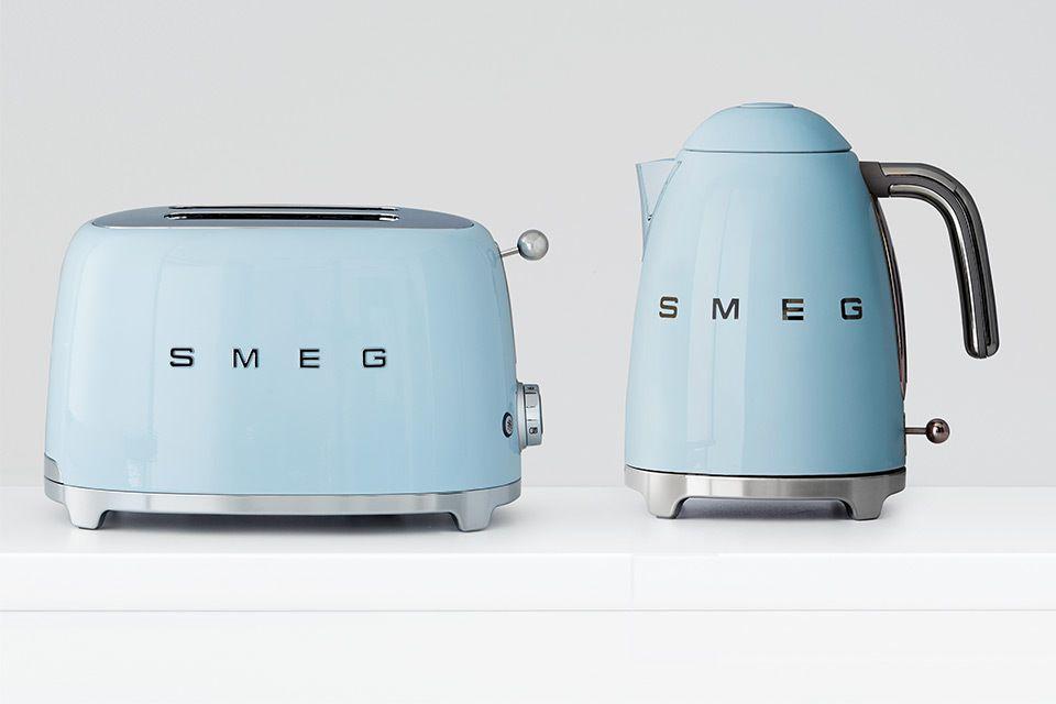 New To Myer Smeg Smeg Blue Toaster Smeg Appliances