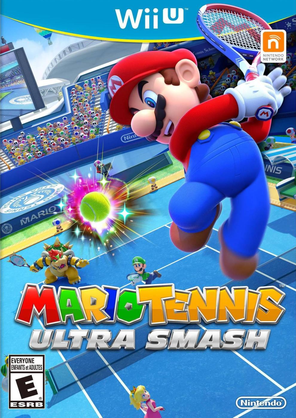 Mario Tennis Ultra Smash Us Box Art Nintendo Box Art Pinterest