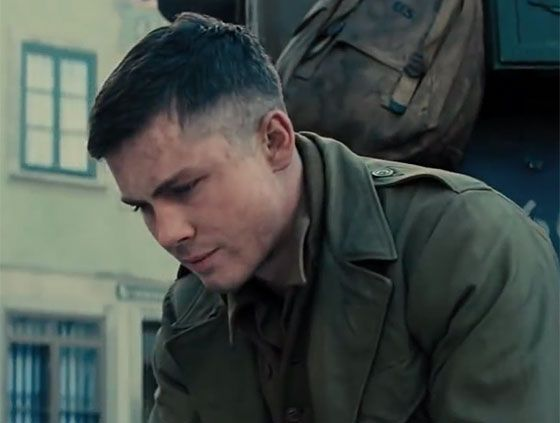 Here's Your First Look at Logan Lerman, Shia LaBeouf and Brad Pitt in their New Movie, Fury (VIDEO)