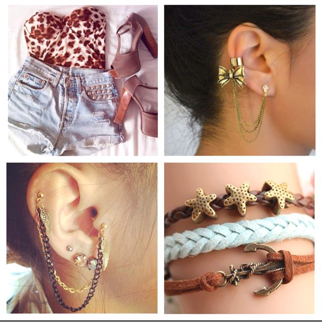 Love the earrings! I want all of this!