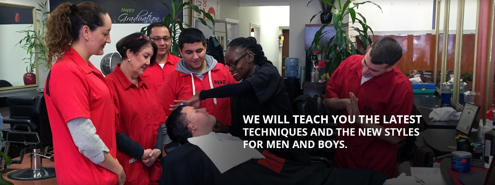 Have training in barbering from the certified barbering