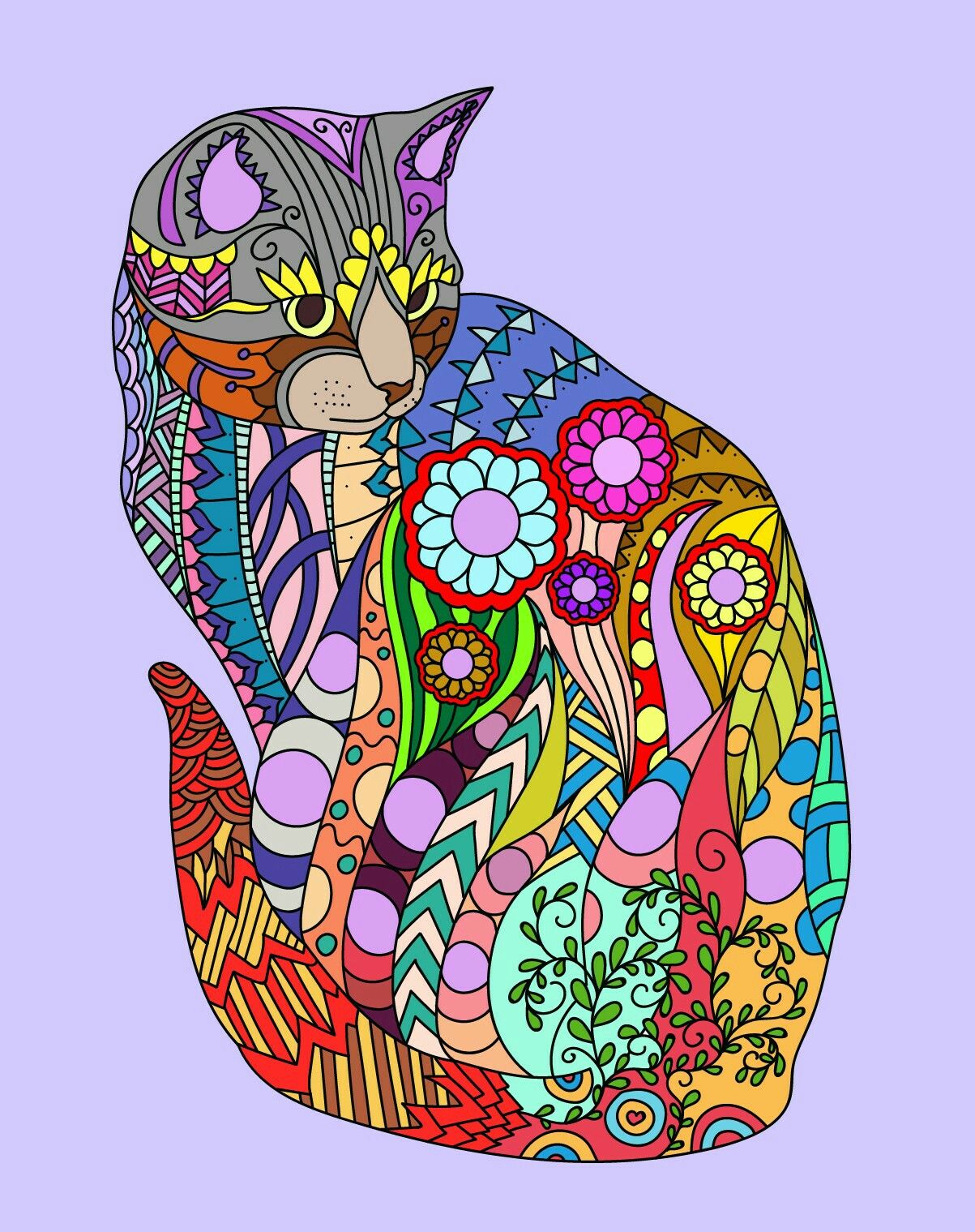 Pin By Mere On Design Decor Cat Art Print Cat Painting Cat Art [ 1519 x 1203 Pixel ]