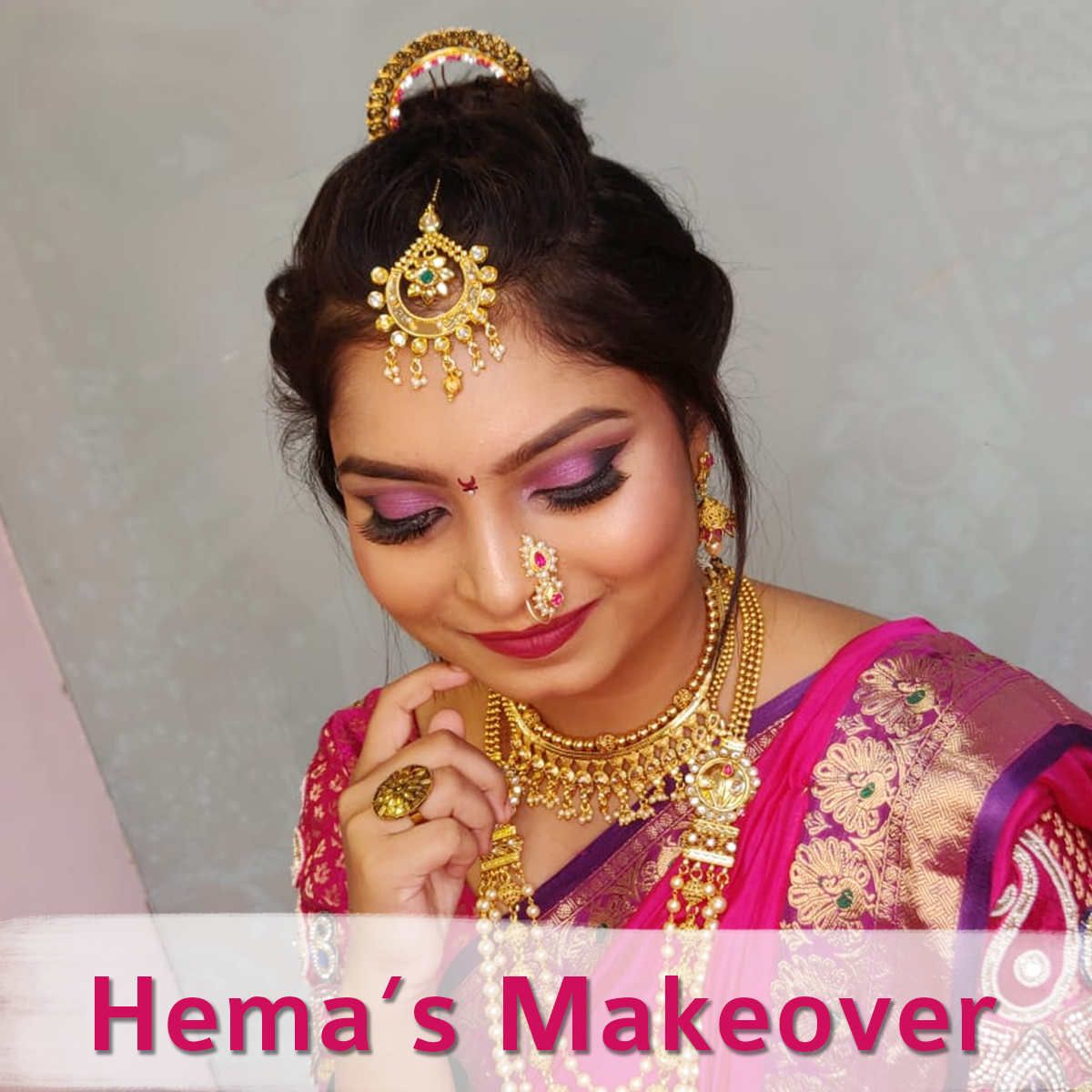 Bridal Makeup Performed By me.....Hit Like If You Loved it