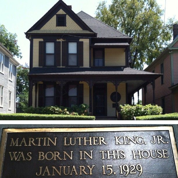 Martin Luther King Jr Was Born In The House January 15 1929