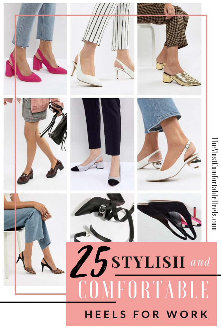 b0d3303a34b3 25 Stylish   Comfortable Heels for Work comfy heels heels comfortable  comfortable shoes heels shoes heels comfortable make heels comfortable most  ...
