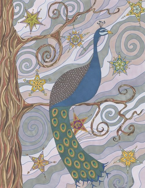 Peacock Dream's  by Pamela Schiermeyer, Amissville