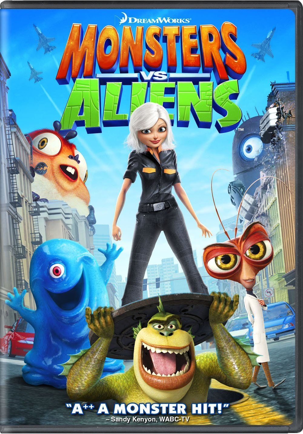 """""""MONSTERS AND ALIENS"""". (2009) Films d' halloween"""