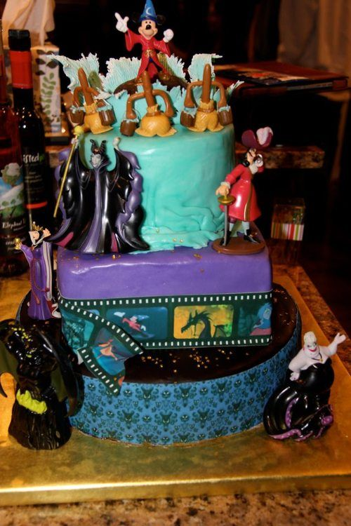 disney villains birthday cake Google Search Ideas
