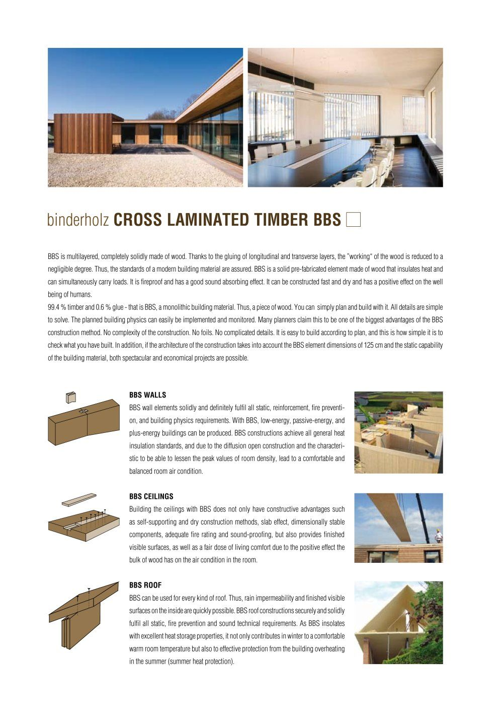 Cross Laminated Timber Archiexpo Timber Laminate Sound Absorbing