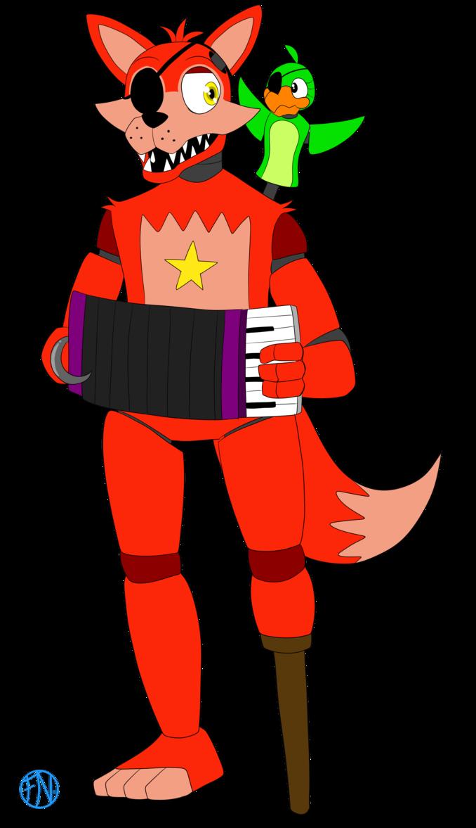 Rockstar Foxy by FNAFNations