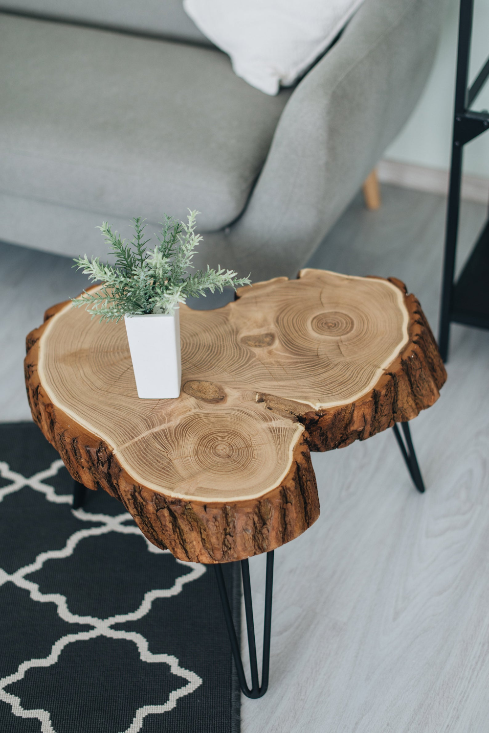 Unique Coffee Table Live Edge Coffee Table Modern Hairpin Etsy In 2020 Unique Coffee Table Side Coffee Table Coffee Table Wood