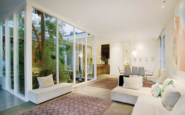 Viviendas con jardín interior Patios interiores Pinterest