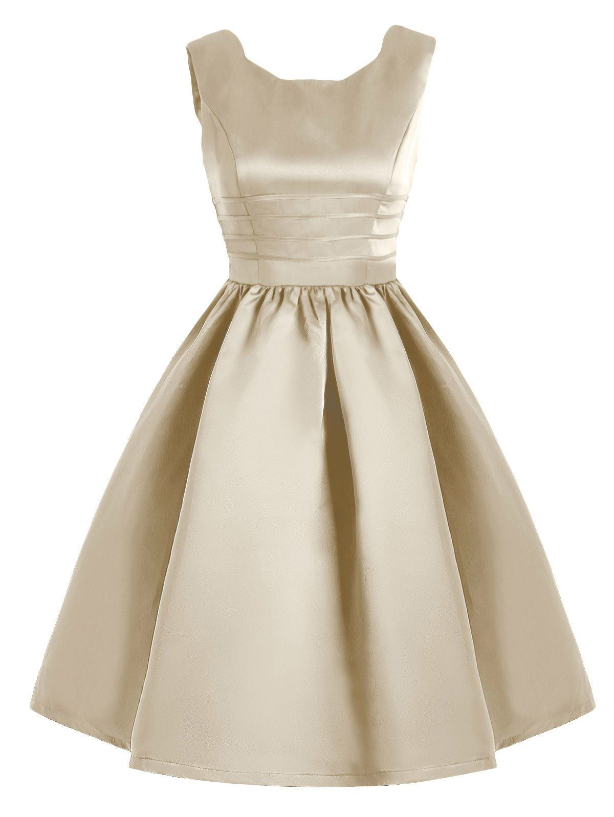 Vintage Sweetheart Neck Fit And Flare Prom Dress Pinterest
