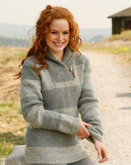 Anna Sweater Free Knitting Pattern To Make Pinterest Knitting