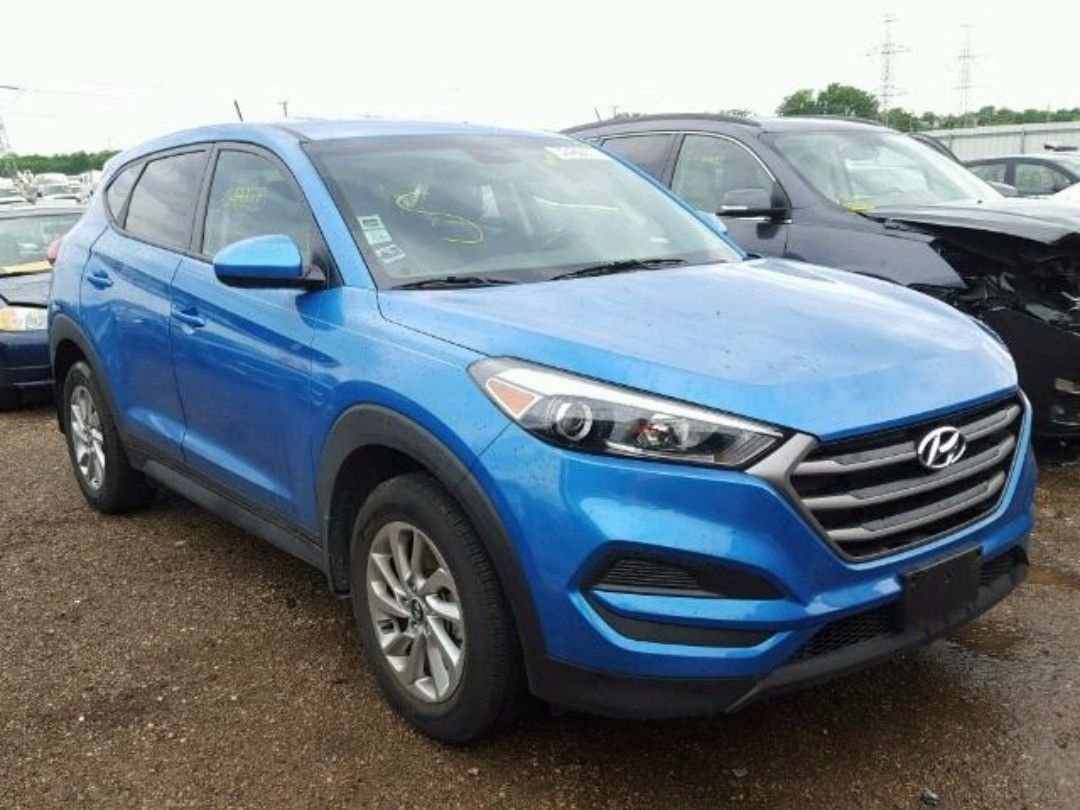 Salvage 2016 Hyundai Tuscon Www Bidgodrive Com Forsale Suv Bid Buy Auction Export Suv Hyundai Salvage